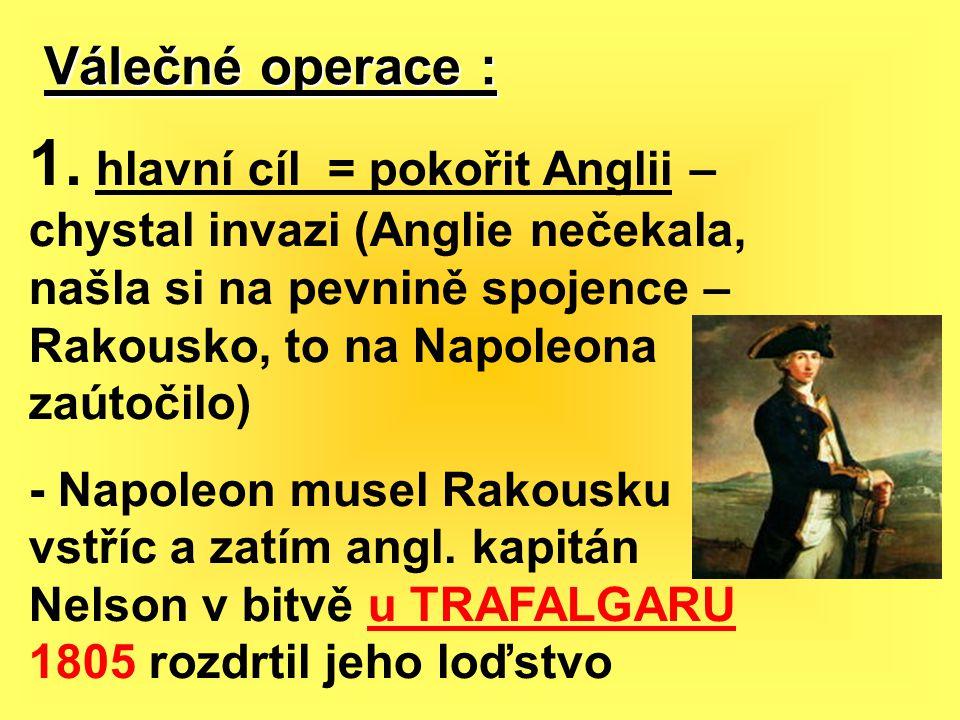 Válečné operace :