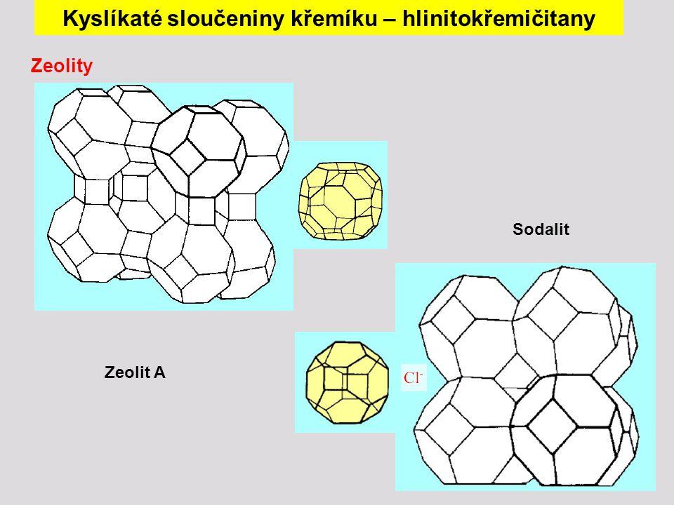 Kyslíkaté sloučeniny křemíku – hlinitokřemičitany