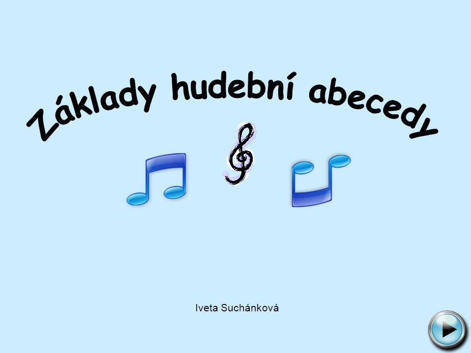 Základy hudební abecedy