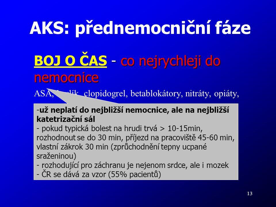 AKS: přednemocniční fáze