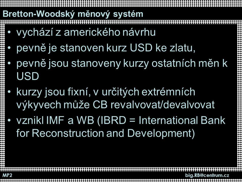 Bretton-Woodský měnový systém