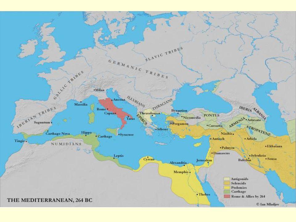 Hospodářství: půda - zdroj politické vážnosti. řemeslo a obchod dlouho v neúctě. směna – do 3. stol. př.n.l. naturální ráz (měna=as)