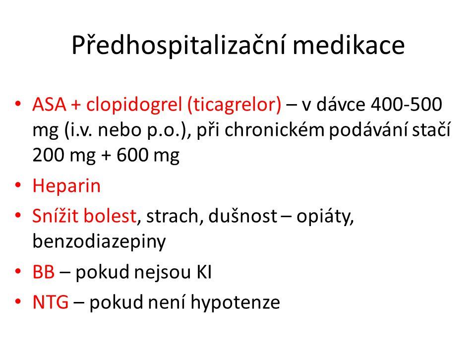 Předhospitalizační medikace