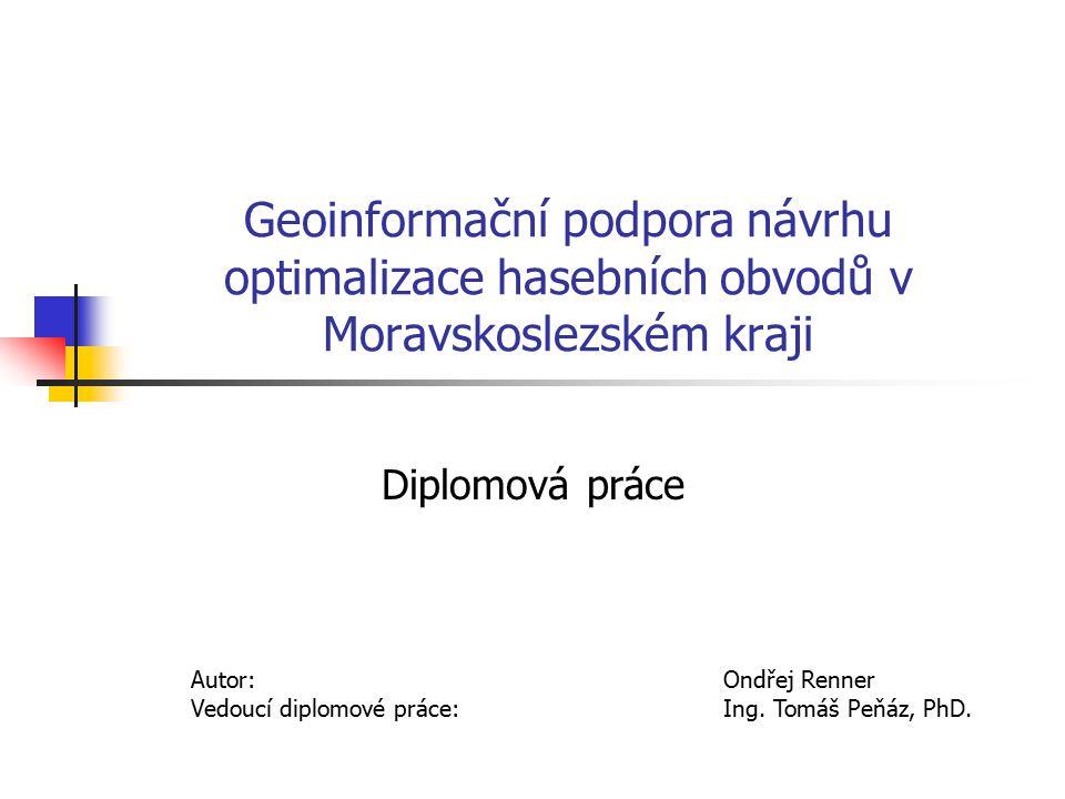 Geoinformační podpora návrhu optimalizace hasebních obvodů v Moravskoslezském kraji