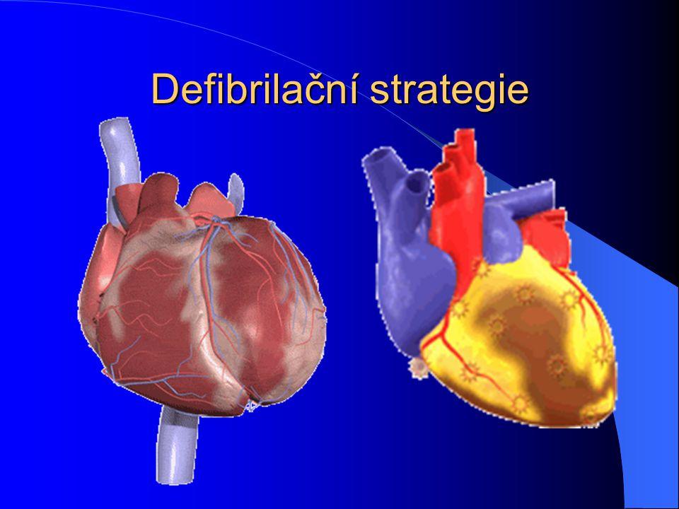Defibrilační strategie