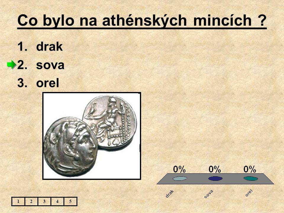 Co bylo na athénských mincích