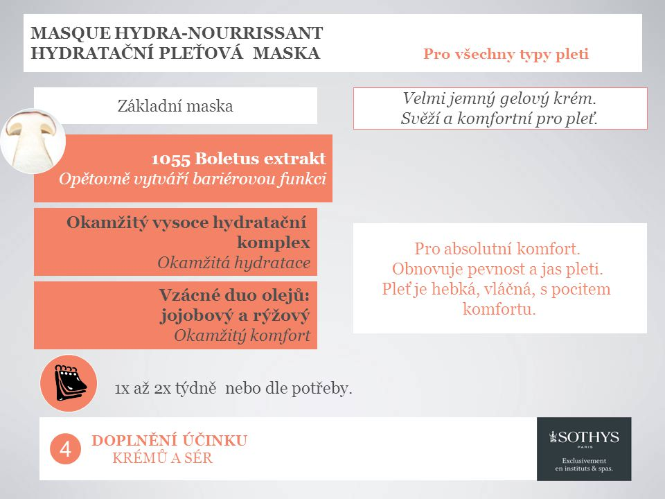 4 MASQUE HYDRA-NOURRISSANT