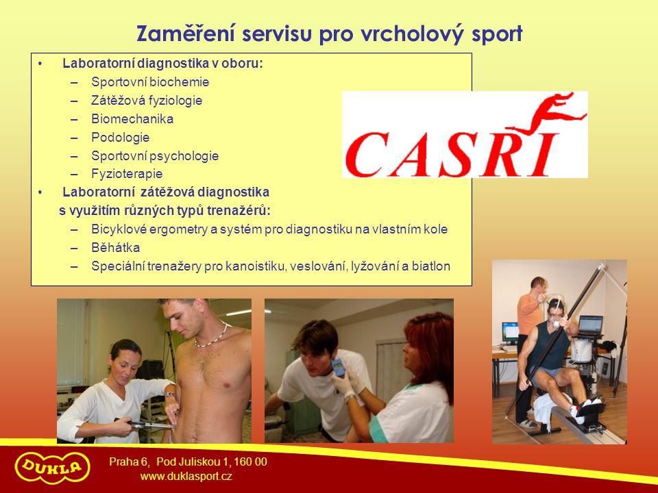 Zaměření servisu pro vrcholový sport