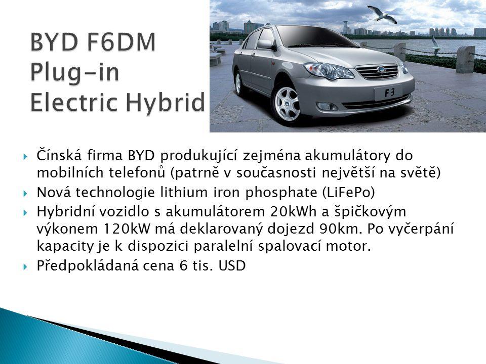 BYD F6DM Plug-in Electric Hybrid