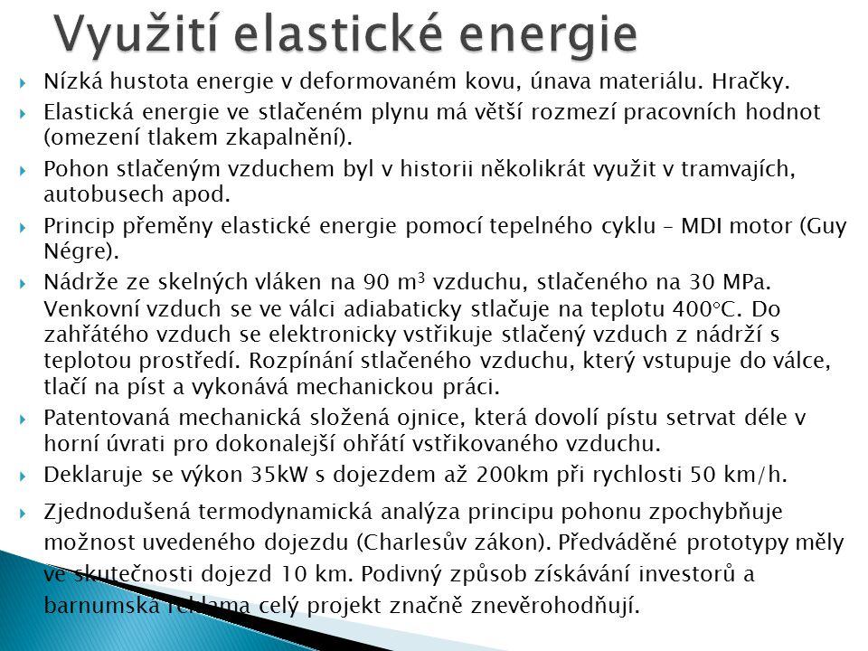 Využití elastické energie