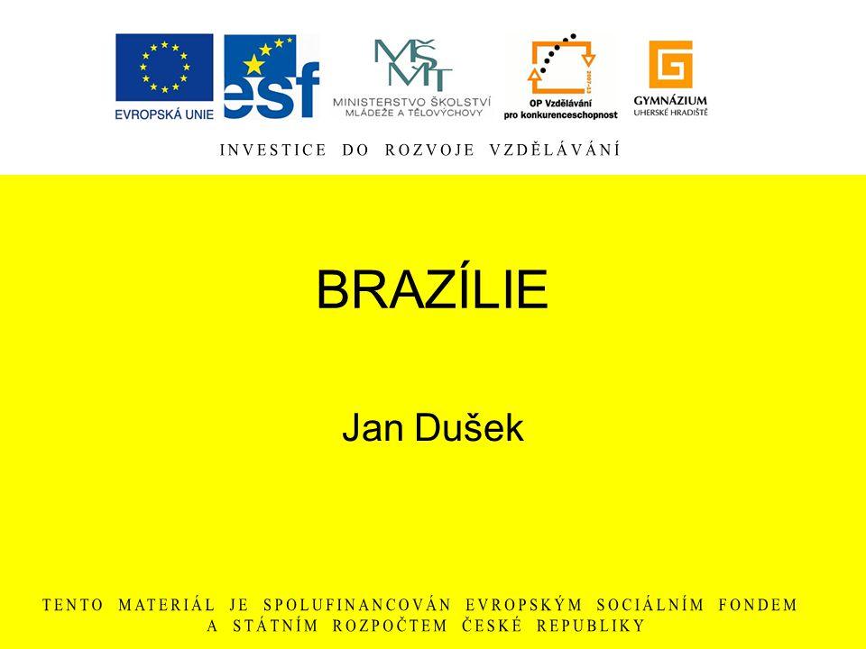 BRAZÍLIE Jan Dušek