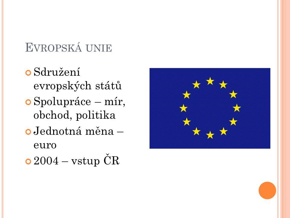 Evropská unie Sdružení evropských států