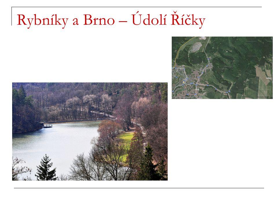 Rybníky a Brno – Údolí Říčky