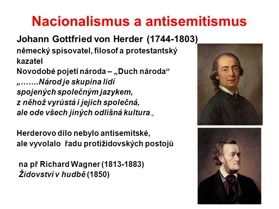 Nacionalismus a antisemitismus
