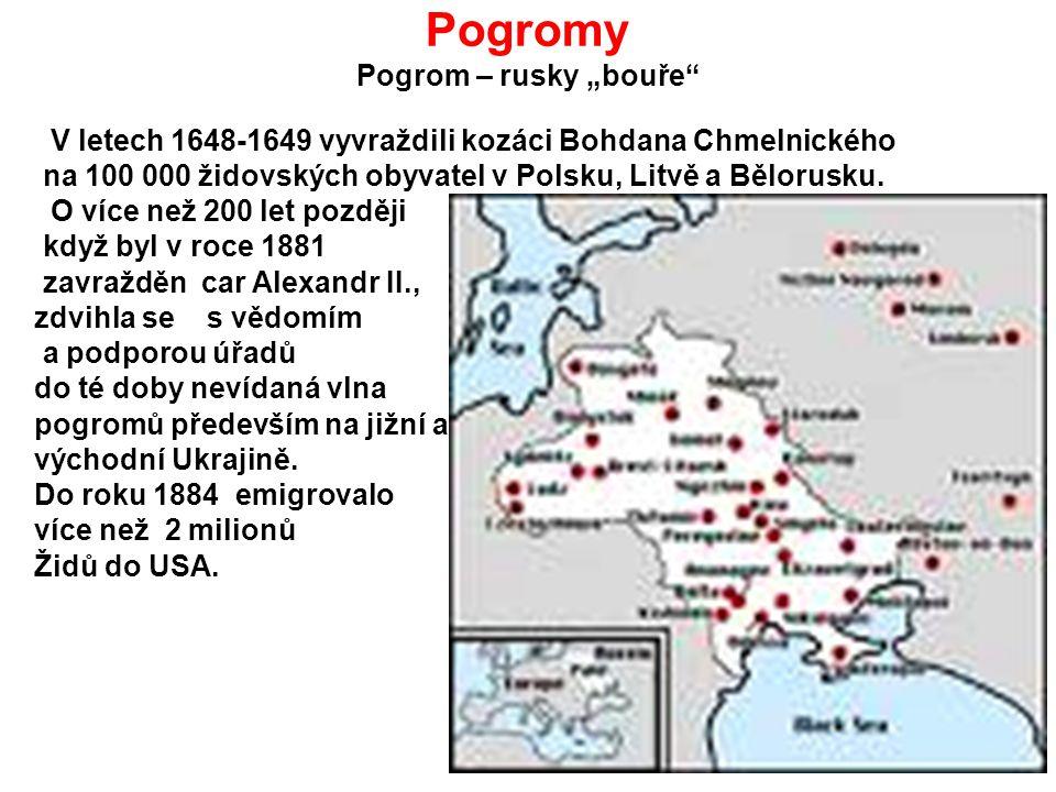 """Pogromy Pogrom – rusky """"bouře"""