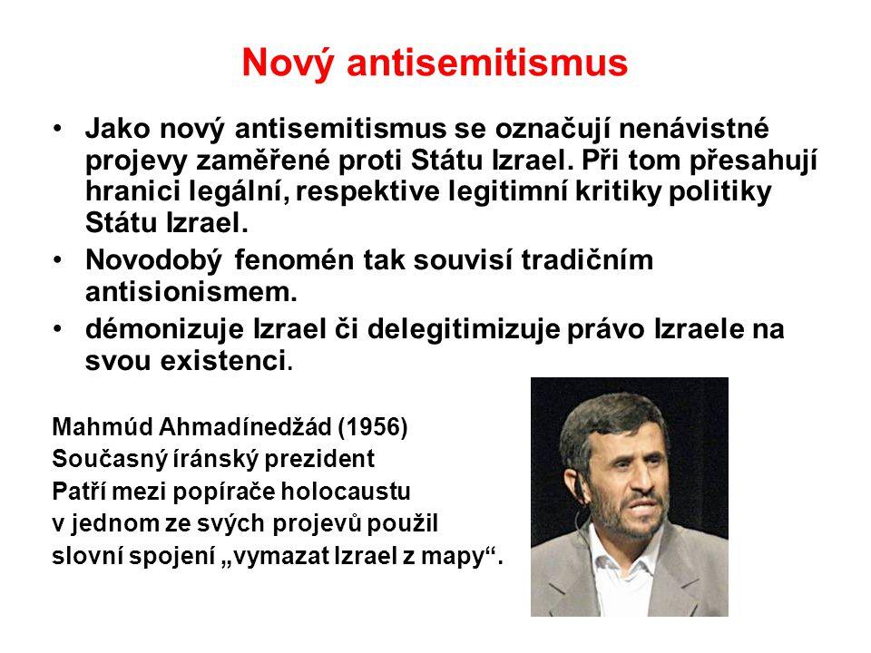 Nový antisemitismus