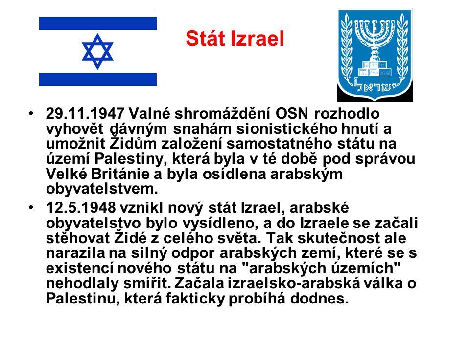 Stát Izrael