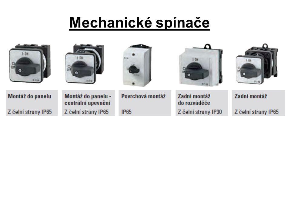 Mechanické spínače