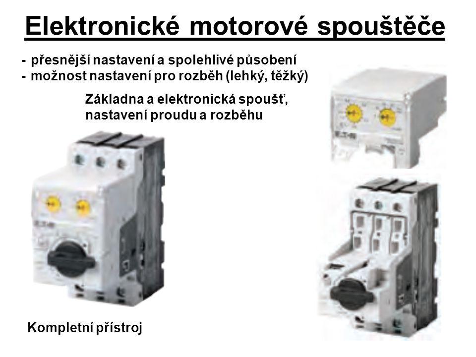 Elektronické motorové spouštěče