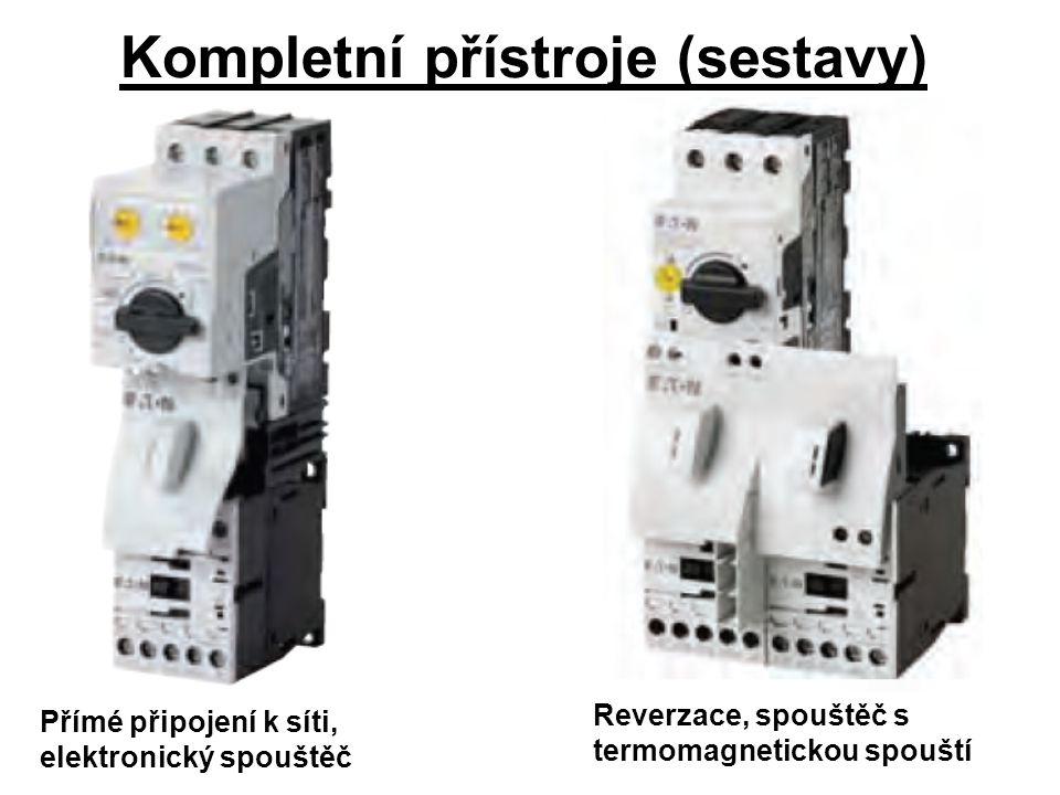 Kompletní přístroje (sestavy)