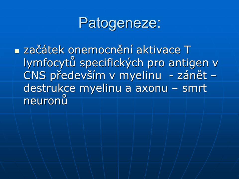 Patogeneze: