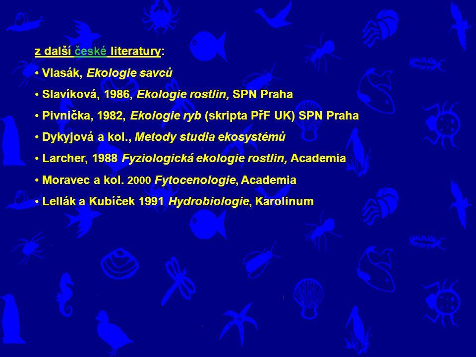 z další české literatury: