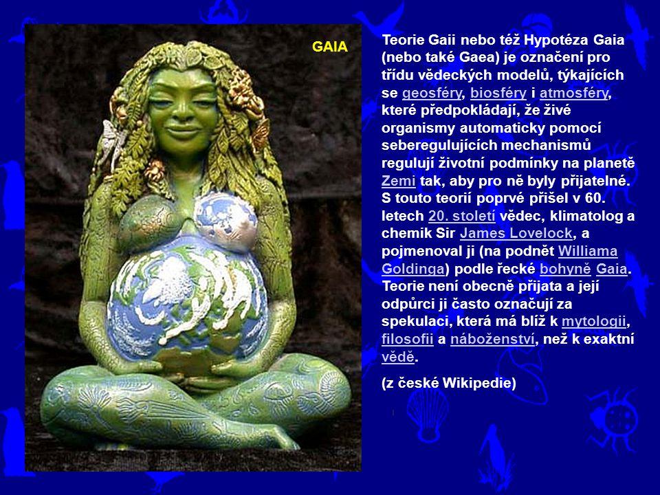 Teorie Gaii nebo též Hypotéza Gaia (nebo také Gaea) je označení pro třídu vědeckých modelů, týkajících se geosféry, biosféry i atmosféry, které předpokládají, že živé organismy automaticky pomocí seberegulujících mechanismů regulují životní podmínky na planetě Zemi tak, aby pro ně byly přijatelné. S touto teorií poprvé přišel v 60. letech 20. století vědec, klimatolog a chemik Sir James Lovelock, a pojmenoval ji (na podnět Williama Goldinga) podle řecké bohyně Gaia. Teorie není obecně přijata a její odpůrci ji často označují za spekulaci, která má blíž k mytologii, filosofii a náboženství, než k exaktní vědě.
