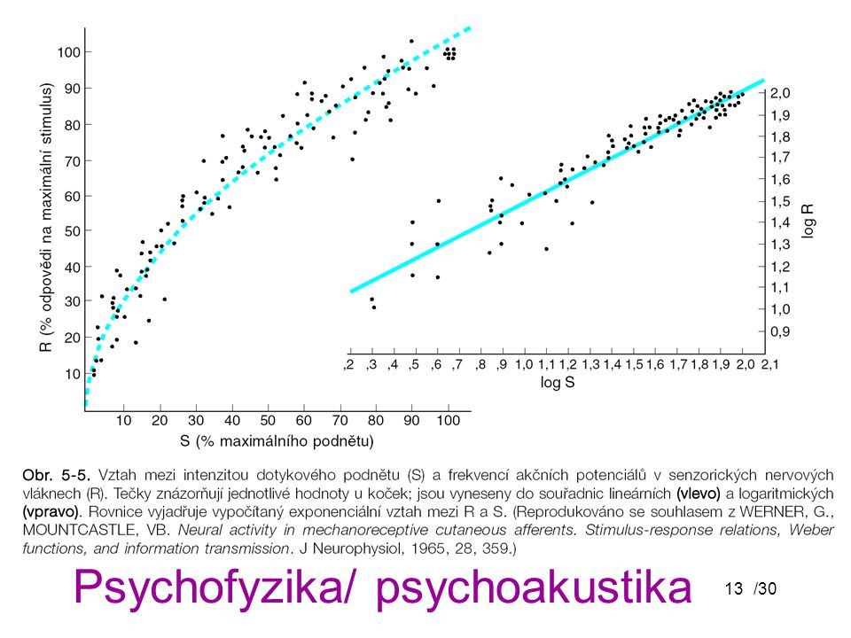 Psychofyzika/ psychoakustika