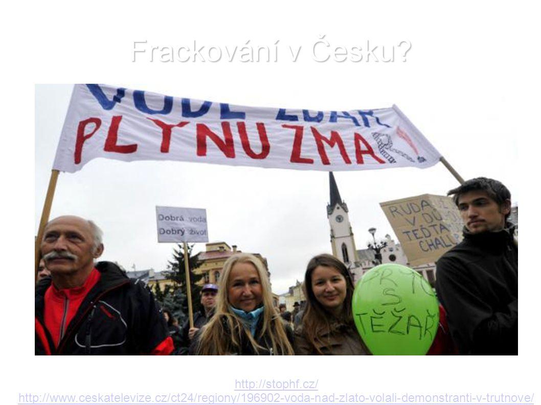 Frackování v Česku http://stophf.cz/