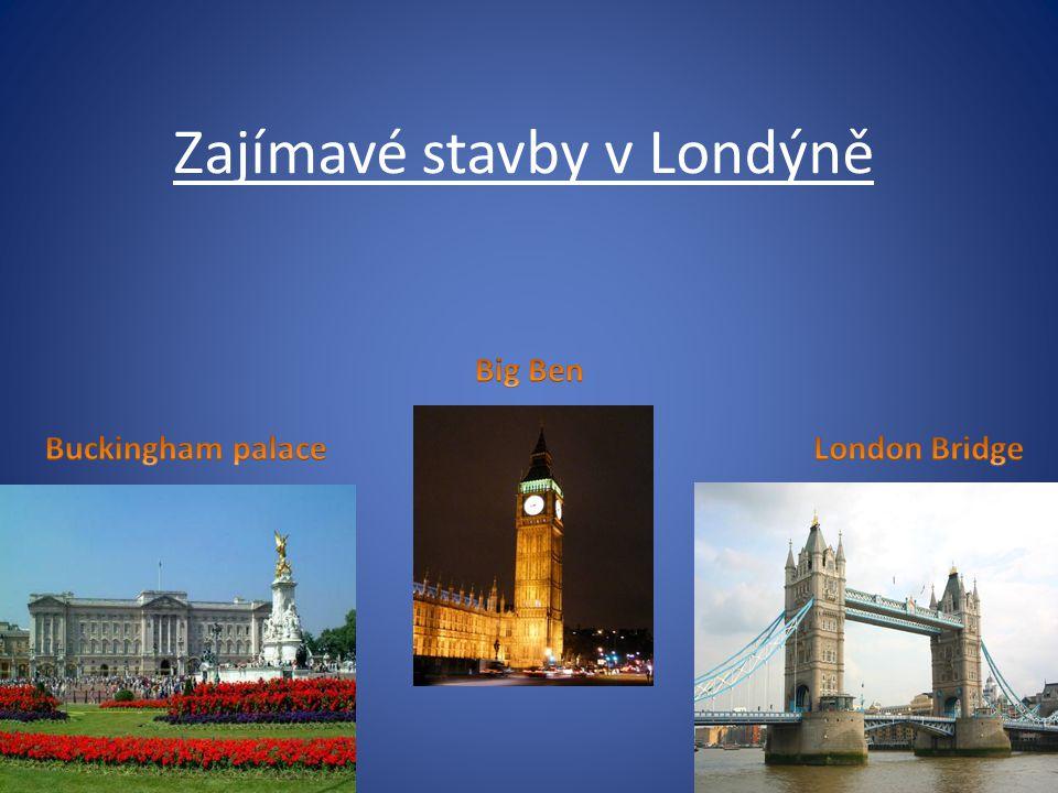 Zajímavé stavby v Londýně
