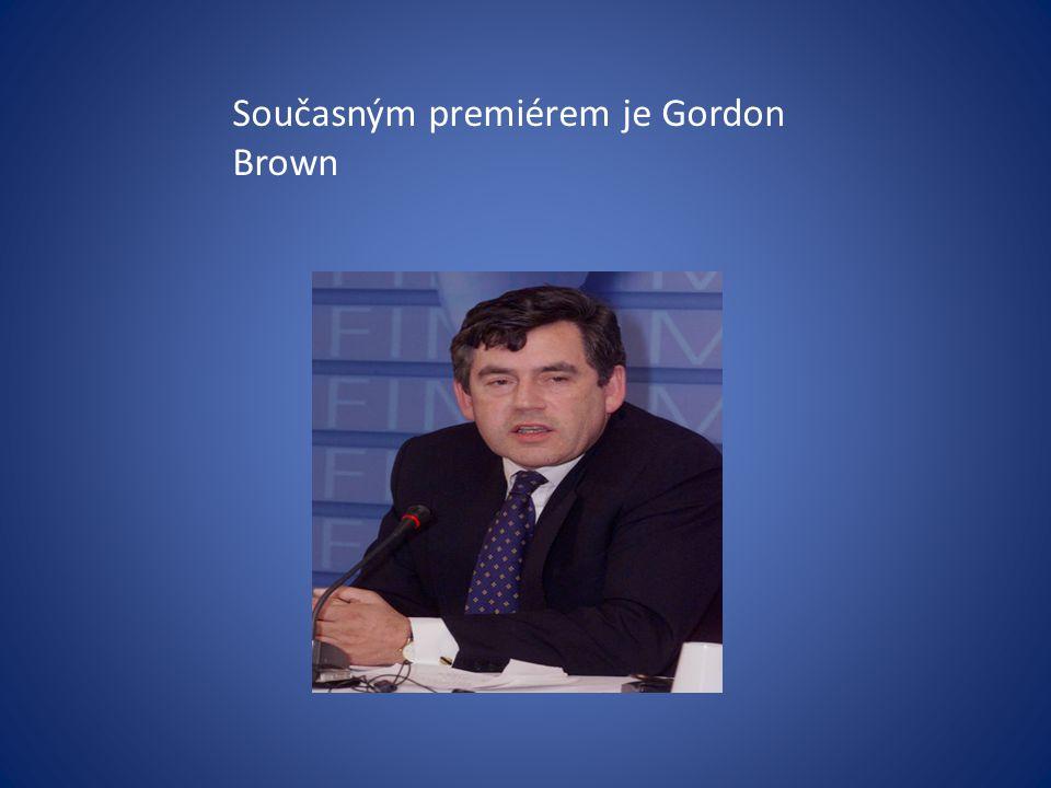 Současným premiérem je Gordon Brown