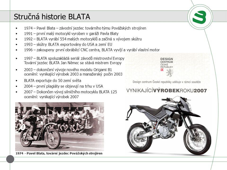 Stručná historie BLATA