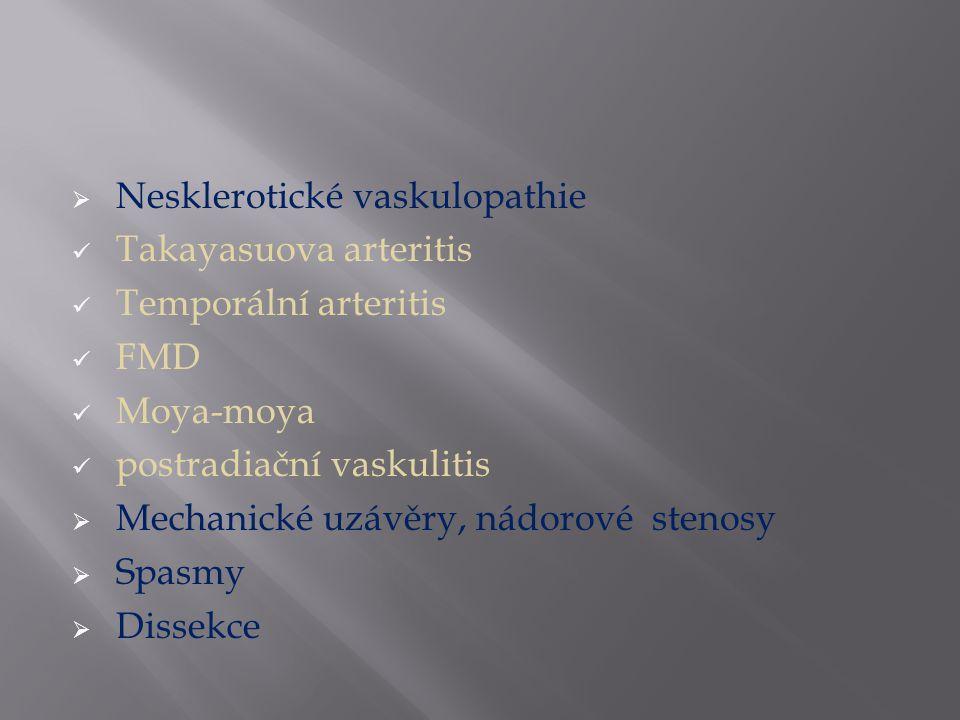 Nesklerotické vaskulopathie