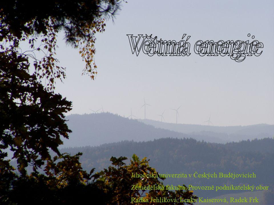 Větrná energie Větrná energie