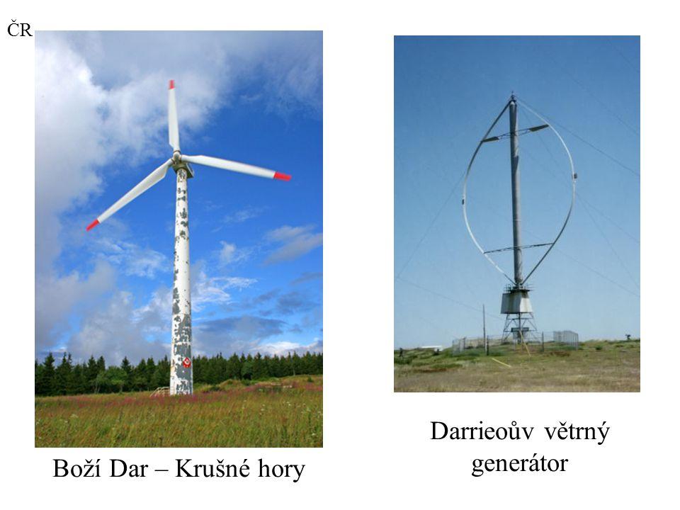 Darrieoův větrný generátor