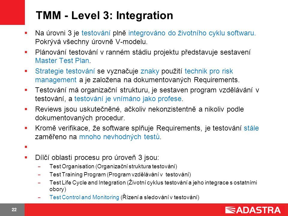 TMM - Level 3: Integration