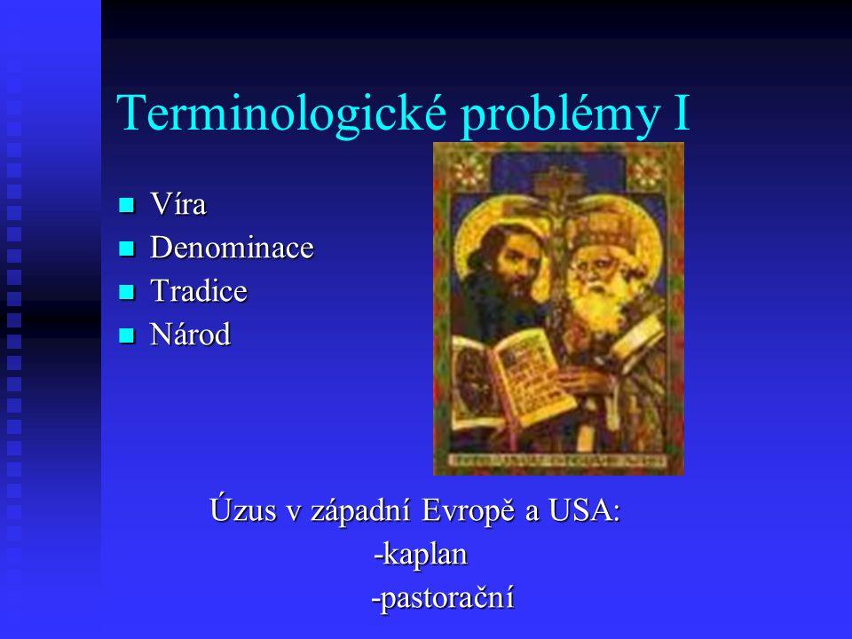 Terminologické problémy I