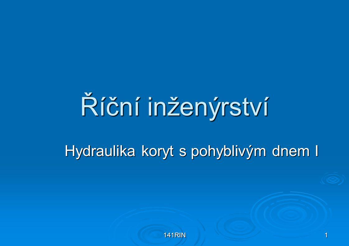 RIN Hydraulika koryt s pohyblivým dnem I