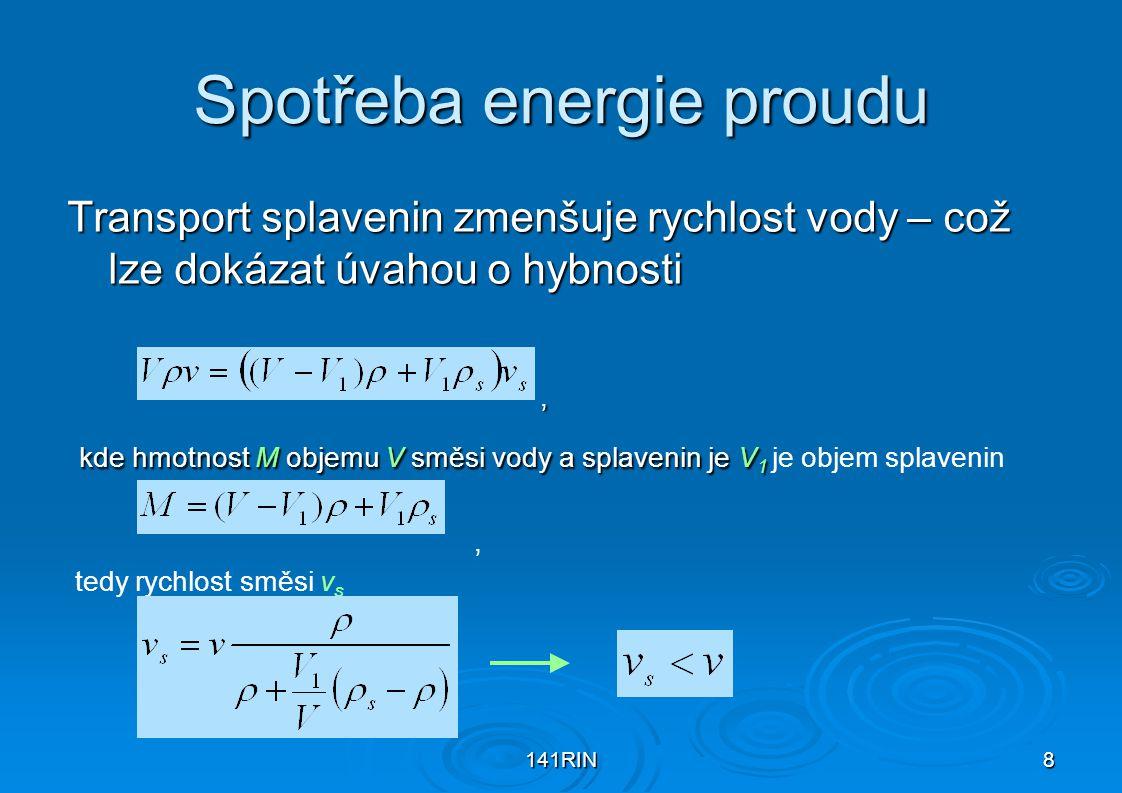Spotřeba energie proudu