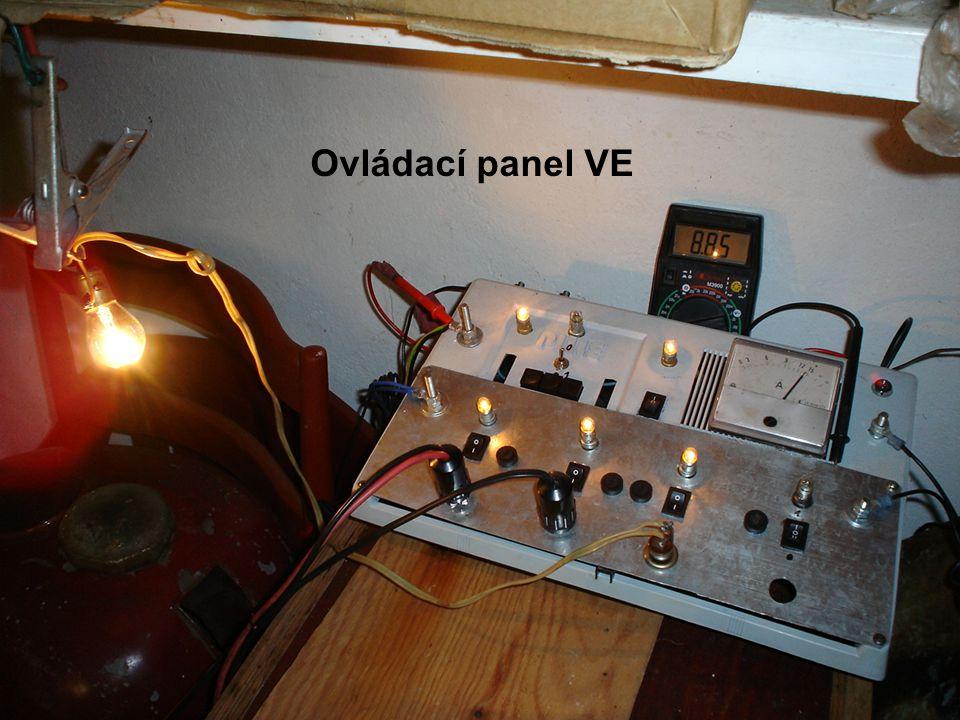 Ovládací panel VE