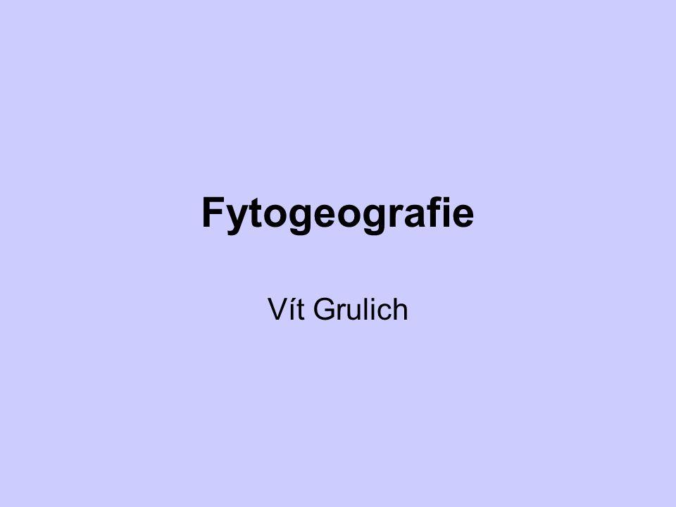 Fytogeografie Vít Grulich