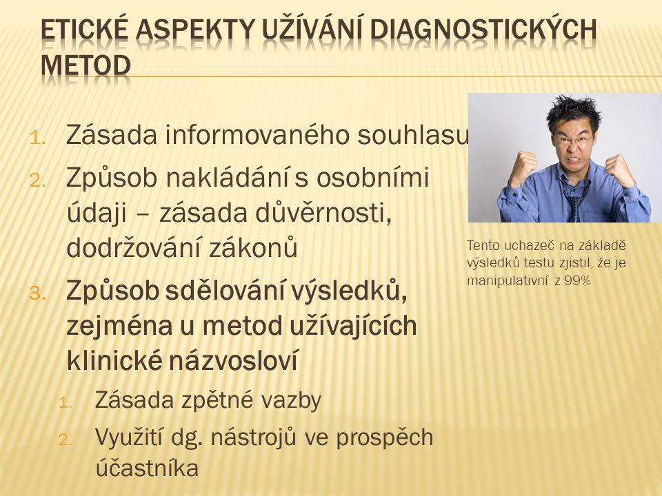 Etické aspekty užívání diagnostických metod