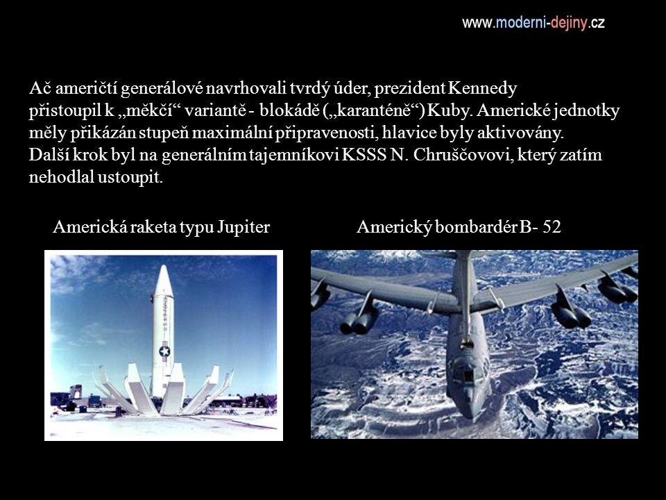 Americká raketa typu Jupiter