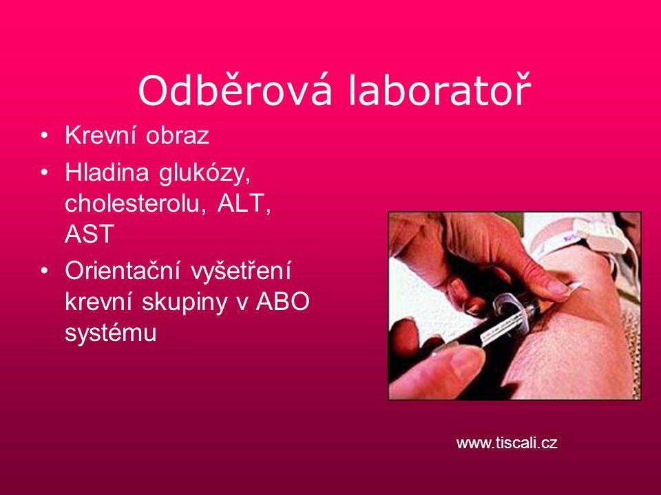 Odběrová laboratoř Krevní obraz