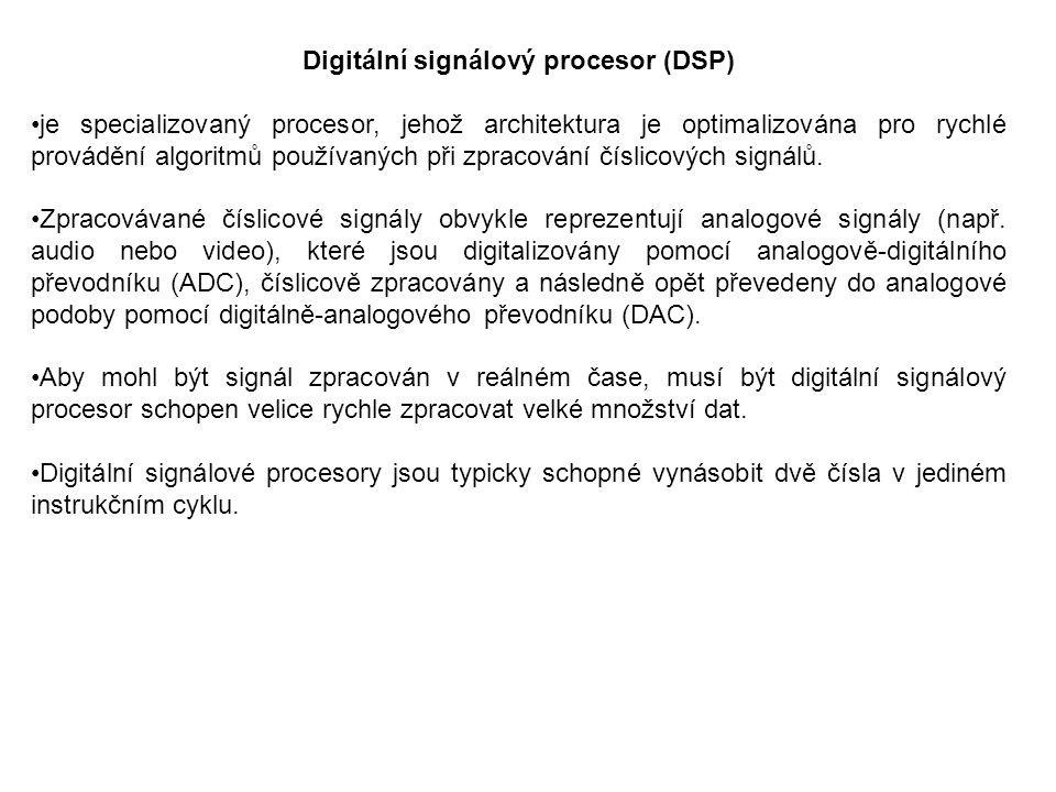 Digitální signálový procesor (DSP)