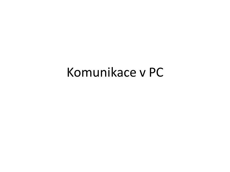 Komunikace v PC