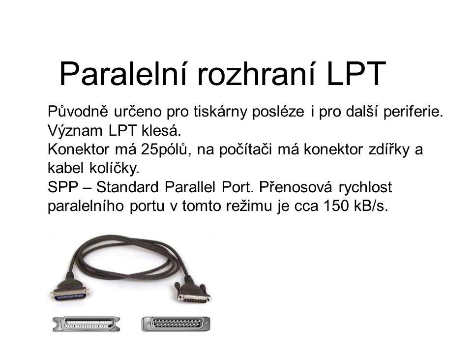 Paralelní rozhraní LPT