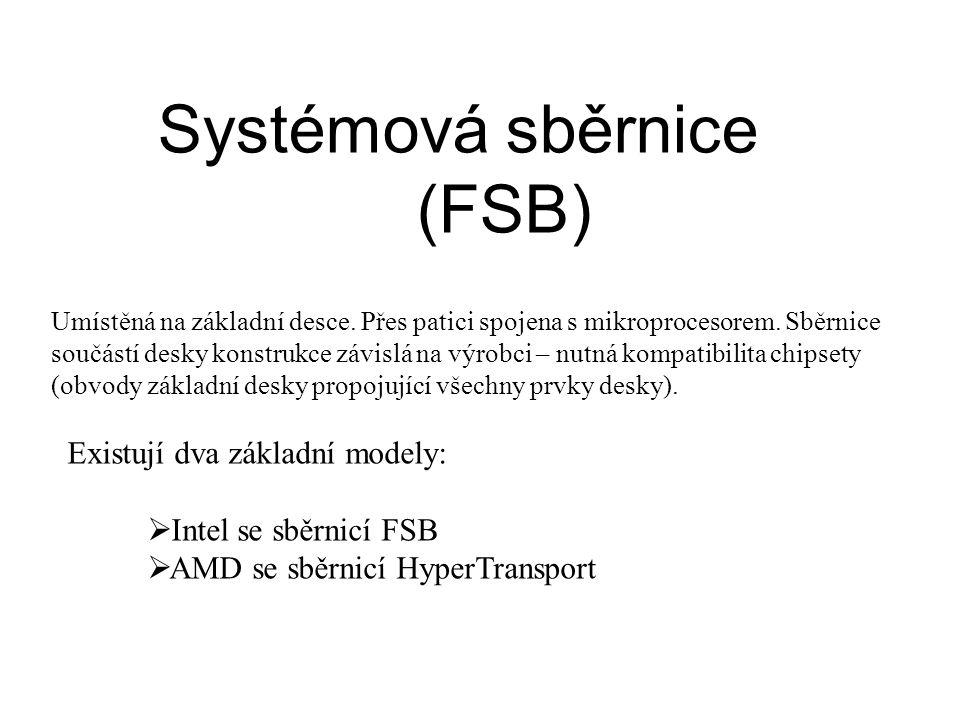 Systémová sběrnice (FSB)