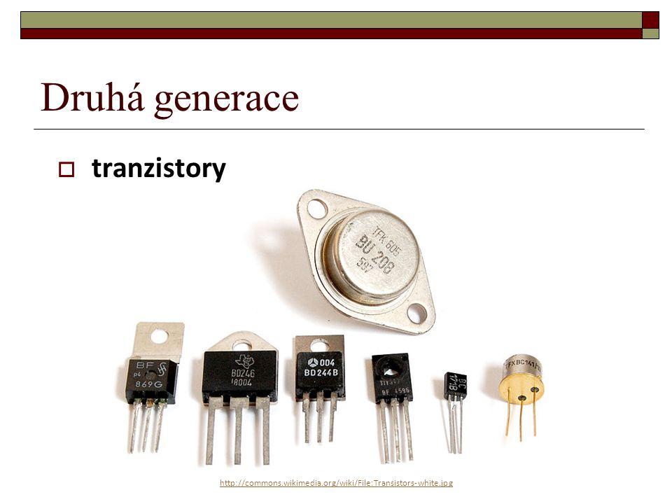 Druhá generace tranzistory