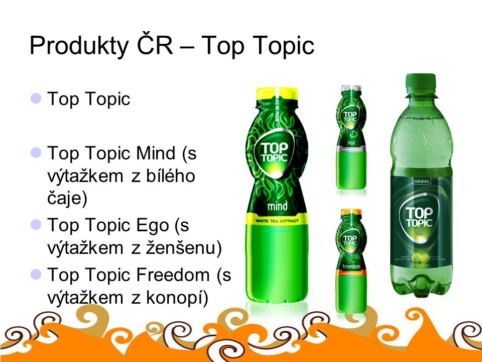 Produkty ČR – Top Topic Top Topic